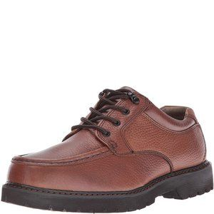 Dockers Mens Glacier Leather Brown Oxford 7M